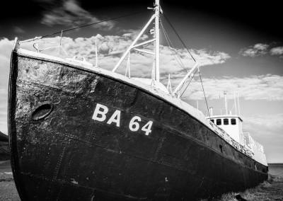 Garðar BA 64, Latrabjarg Peninsula, Islanda
