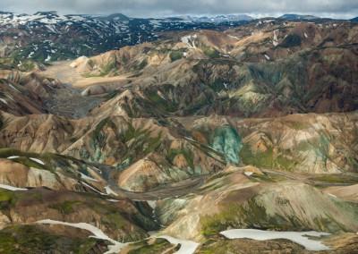 Landmannalaugarin volo, Islanda