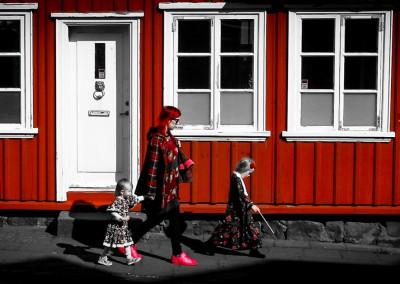 Mary Poppins in Reykjavik, Islanda