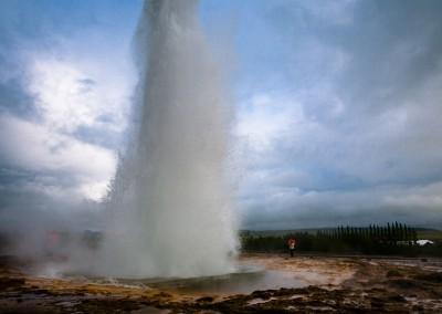 Strokkur geyser, Islanda