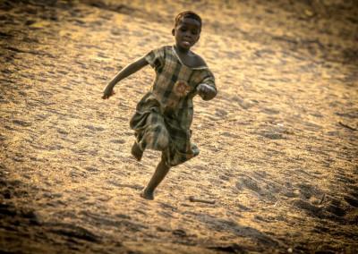 bimba che corre, Zambia