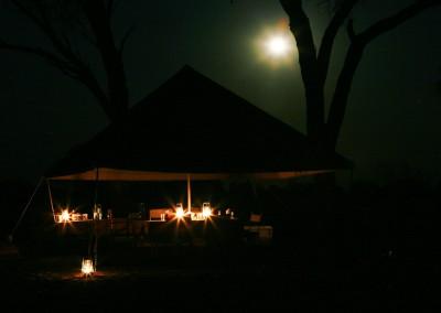 campeggio in tenda, Okavango, Botswana