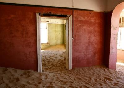 casa dei cercatori di diamanti abbandonate, Kolmanskop, Namibia