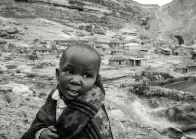 coperta per la vita, Lesotho