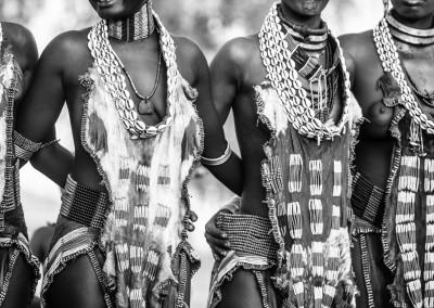 costumi Hamer, Etiopia