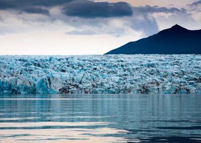 fronte di ghiaccio, Jokulsarlon, Islanda