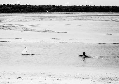 insegui il tuo sogno, bimbo vela, Mozambico
