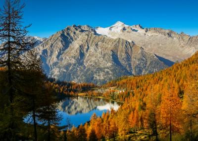 Andrea Mazzella, laghi San Giuliano, Trentino