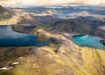 Andrea Mazzella, laghi islandesi, Islanda