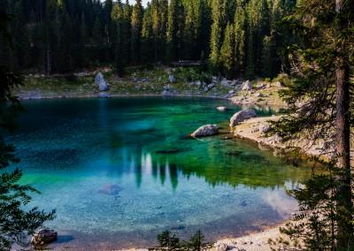 Andrea Mazzella, lago di Carezza, Trentino