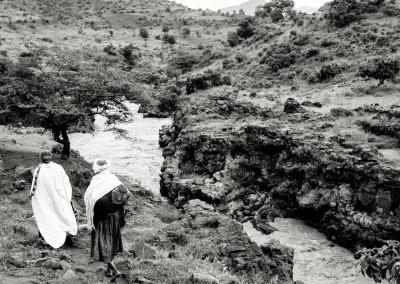 pastori lungo il Nilo Blu, Etiopia