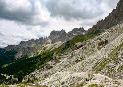 Andrea Mazzella, sentieri dolomitici, Trentino