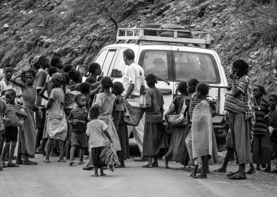 sosta nei villaggi, Etiopia