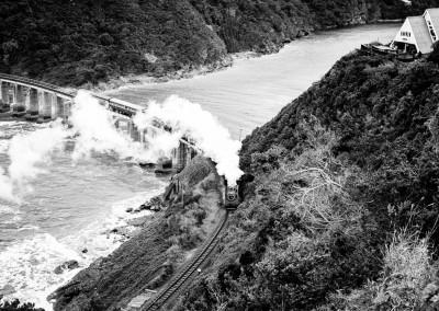 Andrea Mazzella, treno a vapore, Sud Africa