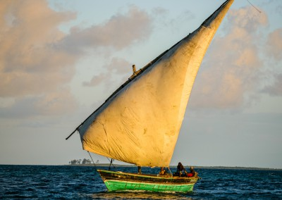 vela latina, Mozambico