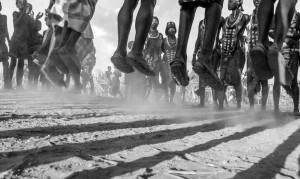 Danza Evangadi, il corteggiamento degli Hamer, Etiopia del sud, Andrea Mazzella, serie Eti 2011/01