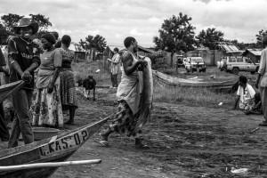 Villaggio di pescatori sul lago George, Uganda, Andrea Mazzella, Serie Uga 2013/01