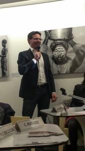 presentazione inaugurazione mostra PAN Andrea Mazzella