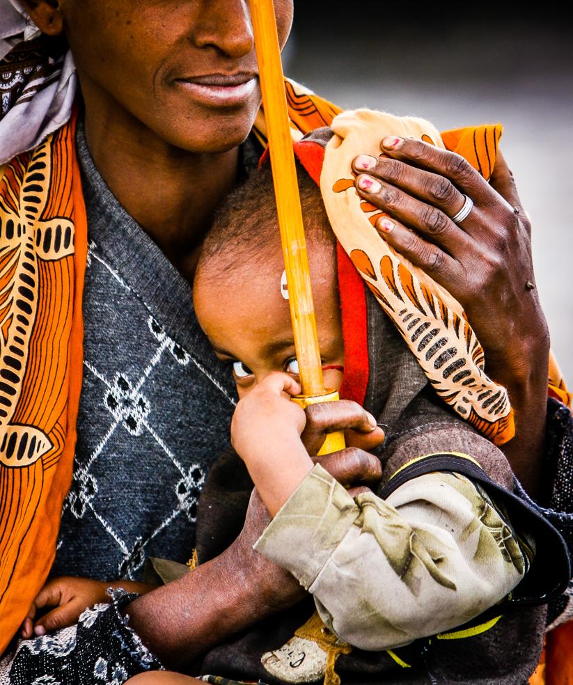 Mum, you're my umbrella, Etiopia