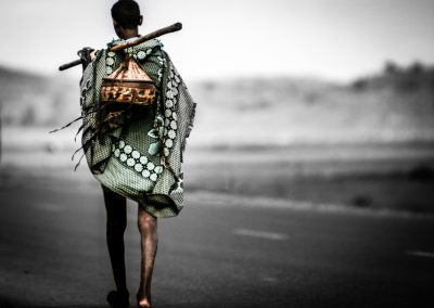 Walking man, Etiopia